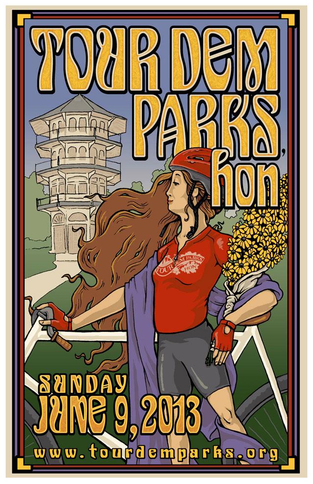 Tour dem Parks, Hon! – Bike through Baltimore parks on June 9